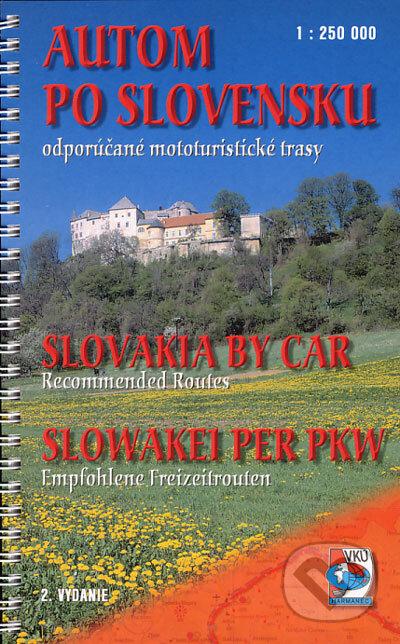 Fatimma.cz Autom po Slovensku 1:250 000 Image