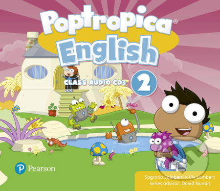 Poptropica English 2: Audio CD - Sagrario Salaberri