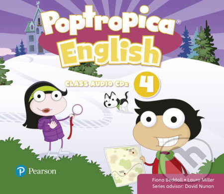 Poptropica English 4: Audio CD - Fiona Beddall