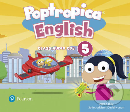 Poptropica English 5: Audio CD - Aaron Jolly
