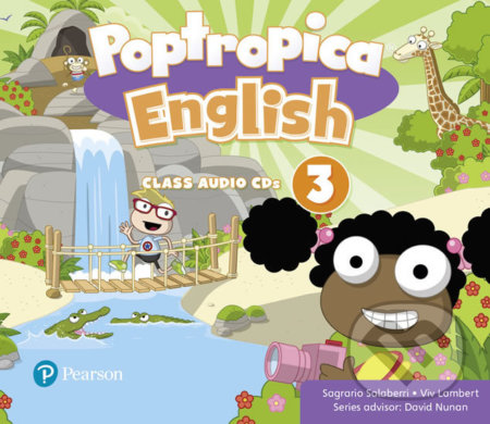 Poptropica English 3: Audio CD - Sagrario Salaberri