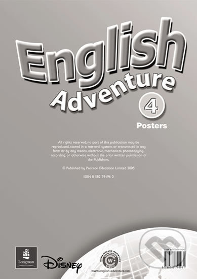 English Adventure 4 - Posters -