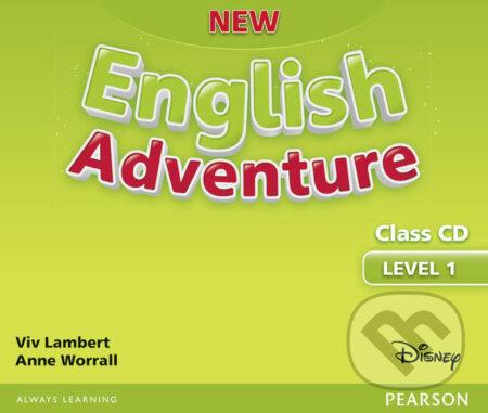 New English Adventure 1 - Class CD - Anne Worral, Viv Lambert