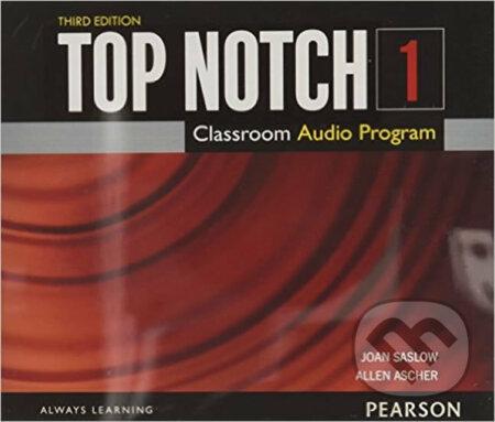 Top Notch 1 - Class Audio CD - M. Joan Saslow