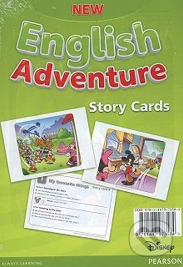New English Adventure 1 - Storycards - Anne Worrall