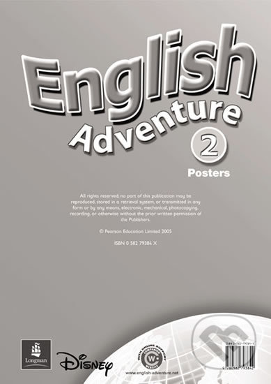 English Adventure 2 - Posters - Anne Worrall