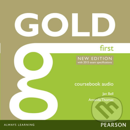 Gold First 2015 - Class Audio CDs - Amanda Thomas, Jan Bell