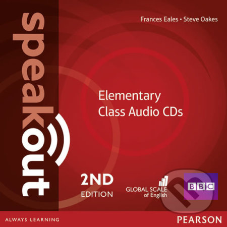 Speakout 2nd Edition - Elementary - Class CDs (3) - Frances Eales
