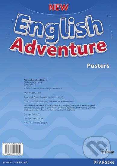 New English Adventure - Starter - A Posters -