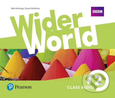 Wider World 2 - Class Audio CDs - Pearson