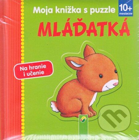 Fatimma.cz Moja knižka s puzzle - mláďatká Image