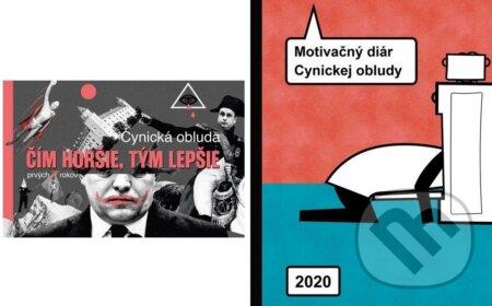 Fatimma.cz Čím horšie, tým lepšie + Motivačný diár Cynickej obludy 2020 Image