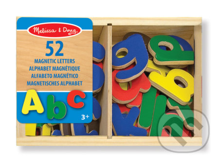 Magnetické písmená 58 ks