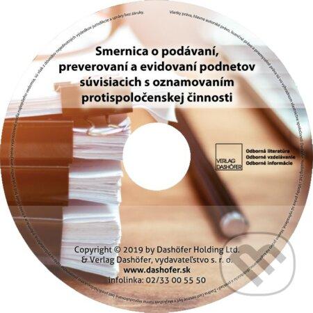 Fatimma.cz Smernica o podávaní, preverovaní a evidovaní podnetov súvisiacich s oznamovaním protispoločenskej činnosti Image