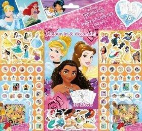 Samolepkový set 500 ks - Disney Princezny - Jiří Models