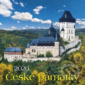 České památky 2020 - nástěnný kalendář - BB/art