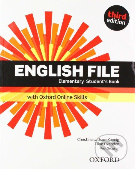 New English File - Elementary - Student's Book - Oxford University Press