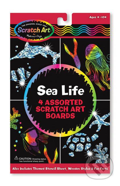 Sada Scratch Art - Život v mori - Melissa and Doug
