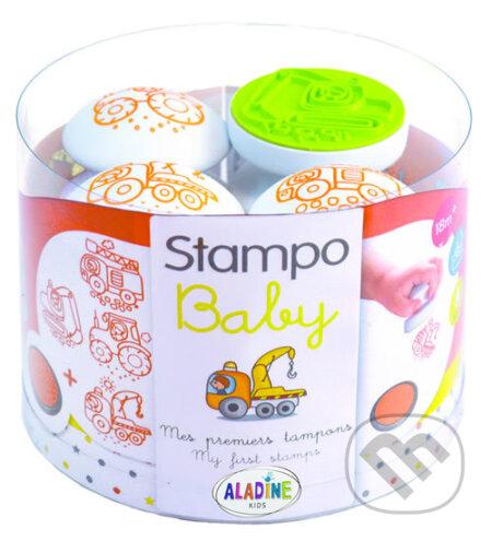 Razítka Stampo baby - Stavební stroje - Aladine