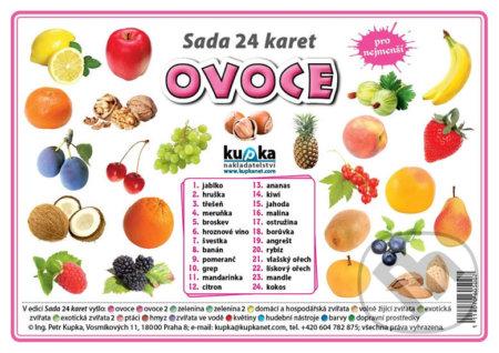 Fatimma.cz Sada 24 karet - ovoce Image