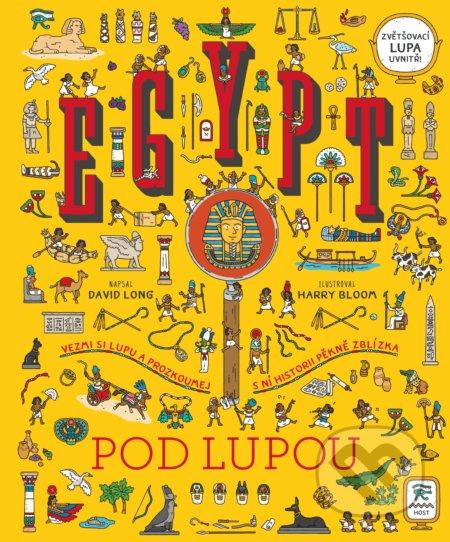 Egypt pod lupou - David Long, Harry Bloom (Ilustrátor)