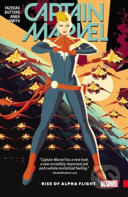 Captain Marvel 1 - Tara Butters, Michele Fazekas, Kris Anka (ilustrácie)