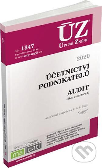 Úplné Znění - 1347: Účetnictví podnikatelů 2020 - Sagit