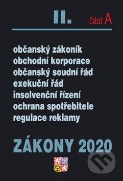 Interdrought2020.com Zákony 2020 II. část A: Občanské zákony, ochrana spotřebitele Image