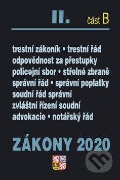 Fatimma.cz Zákony 2020 II. část B: Trestní zákony Image