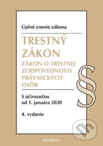 Fatimma.cz Trestný zákon / Zákon o trestnej zodpovednosti právnických osôb Image
