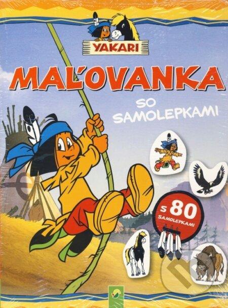 Fatimma.cz Yakari - Maľovanka so samolepkami Image