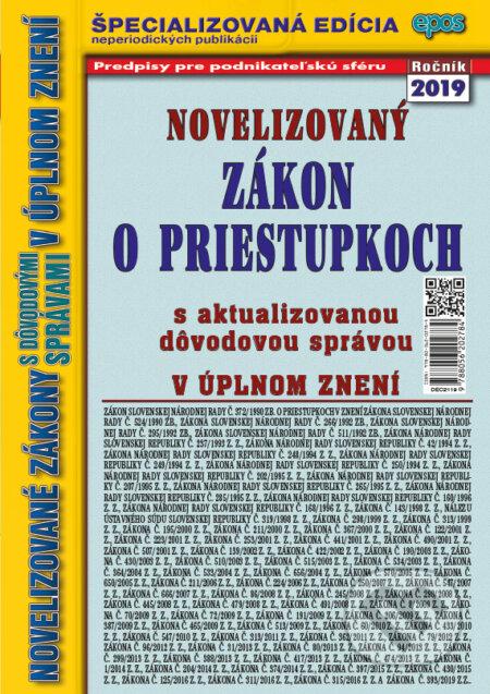 Fatimma.cz Novelizovaný Zákon o priestupkoch Image