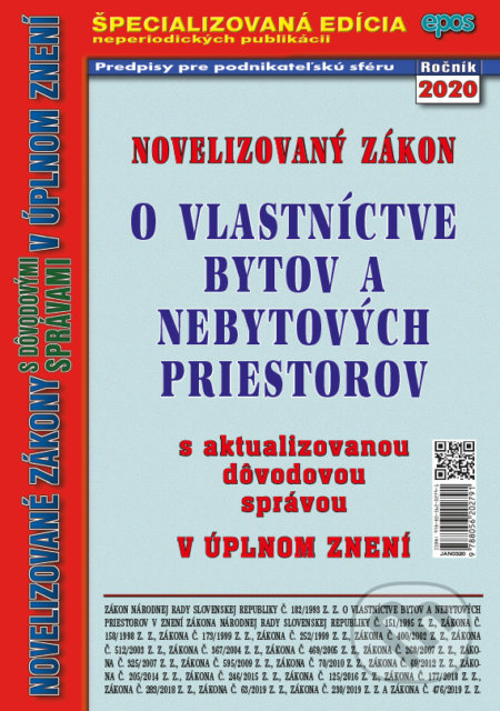 Venirsincontro.it Novelizovaný Zákon o vlastníctve bytov a nebytových priestorov Image