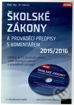 Interdrought2020.com Školské zákony a prováděcí předpisy s komentářem 2015/2016 + CD Image