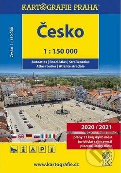 Excelsiorportofino.it Česko autoatlas 1 : 150 000 Image