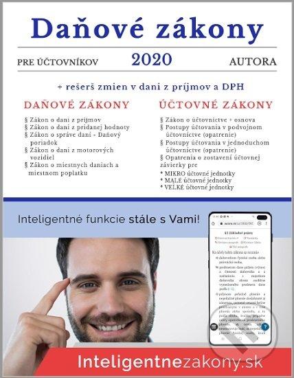 Fatimma.cz Daňové zákony 2020 pre účtovníkov Image