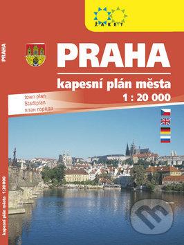Fatimma.cz Praha kapesní plán města 1 : 20 000 Image