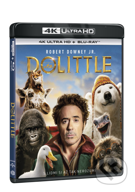 Dolittle Ultra HD Blu-ray - Stephen Gaghan