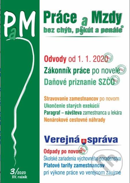 Removu.cz Práce a mzdy (PAM) 3/2020 Image