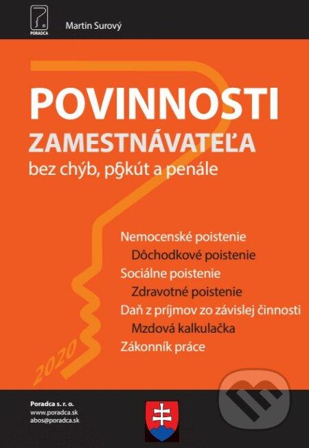 Fatimma.cz Povinnosti zamestnávateľa Image