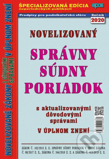 Removu.cz Novelizovaný Správny súdny poriadok Image