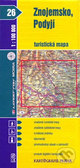 Bthestar.it Znojemsko, Podyjí (turistická mapa) Image