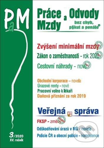 Práce, odvody a mzdy bez chyb, pokut a penále 3/2020 - Poradce s.r.o.