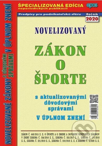 Novelizovaný zákon o športe 2020 - Epos