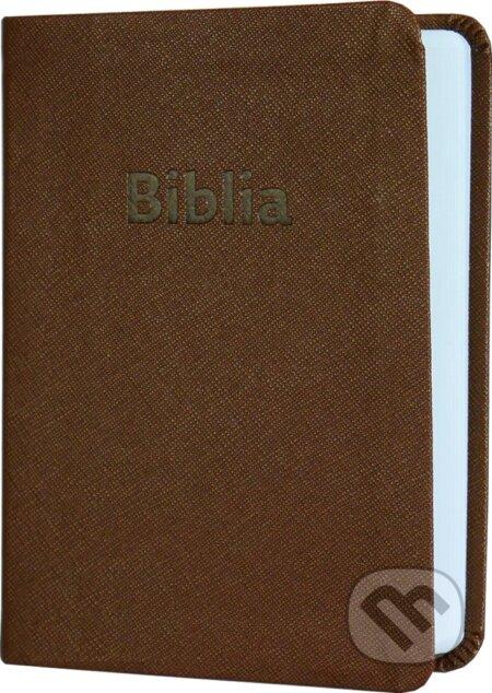 Biblia, hnedá - Slovenská biblická spoločnosť