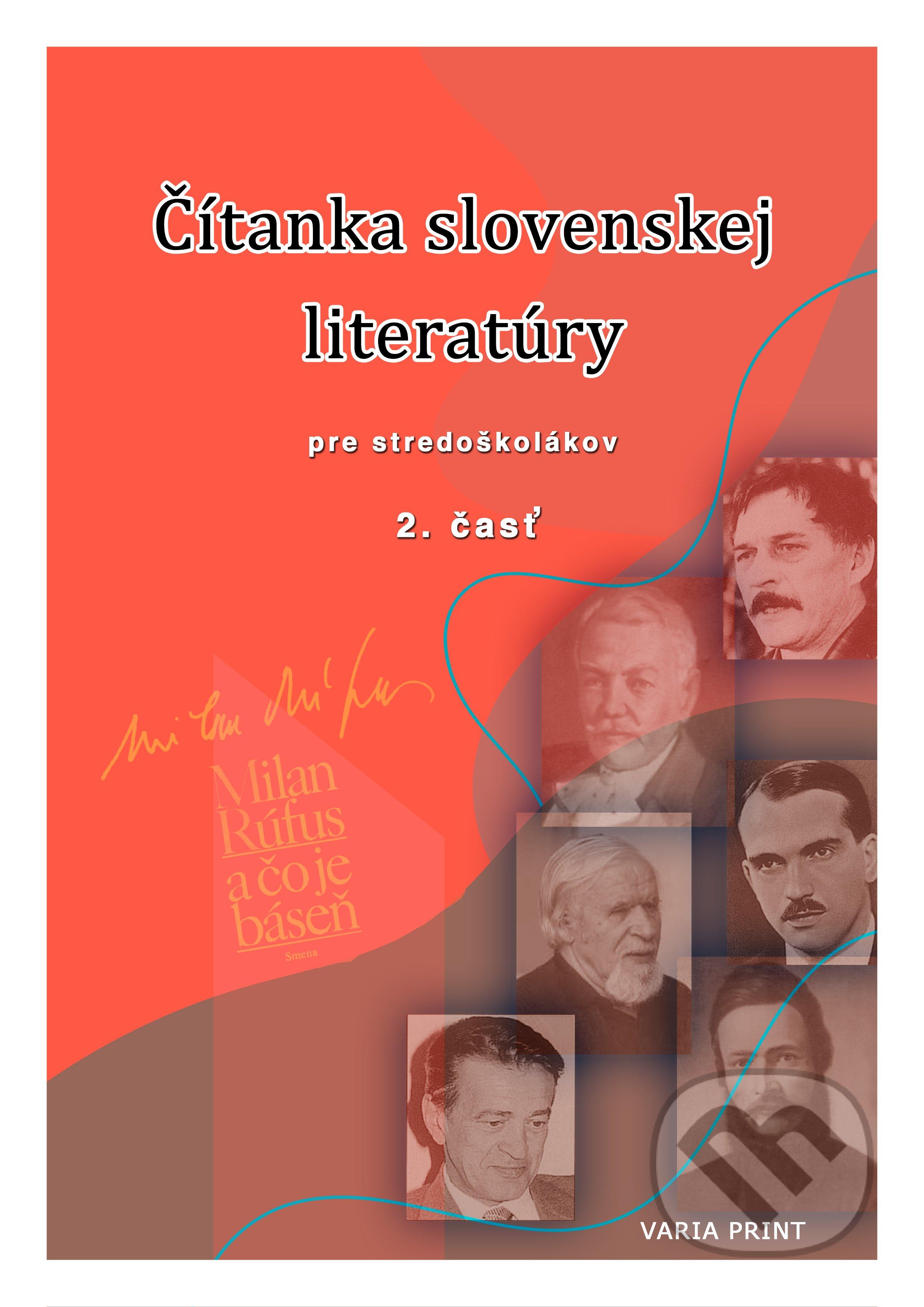 Peticenemocnicesusice.cz Čítanka slovenskej literatúry pre stredoškolákov, 2. časť Image