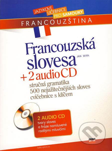 Bthestar.it Francouzská slovesa + 2 audio CD Image