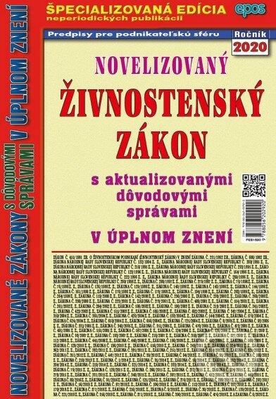Novelizovaný Živnostnenský zákon 20 - Epos