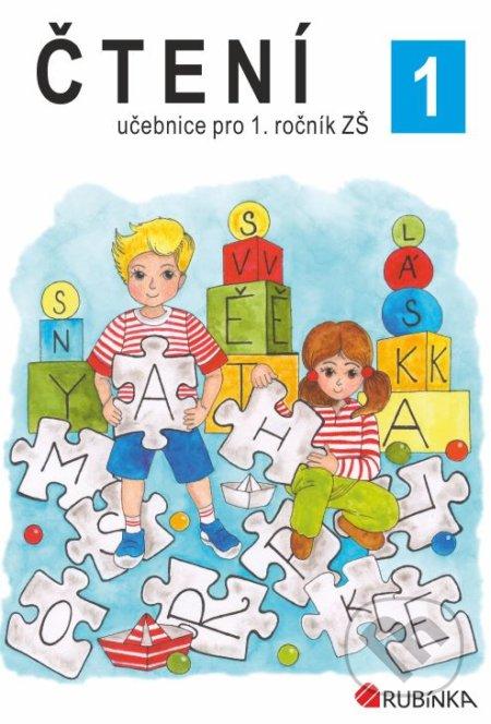 Čtení 1 - učebnice pro 1.ročník - Jitka Rubínová