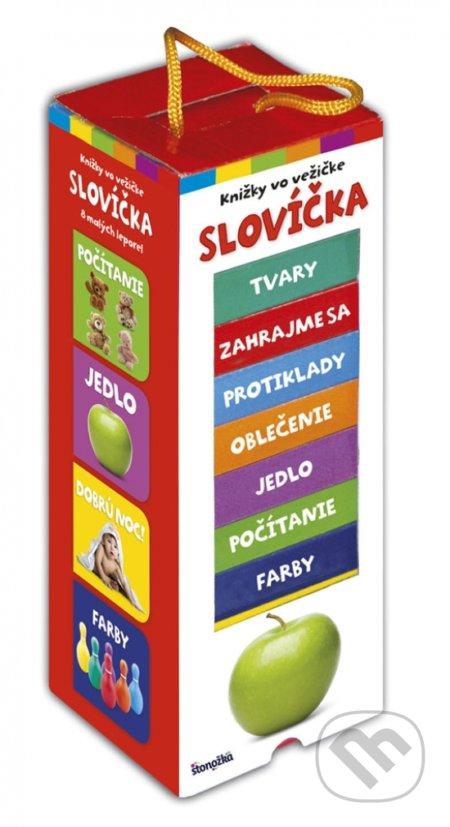 Knižky vo vežičke: Slovíčka - Kolektív